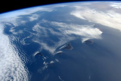 Kanaren Weltraum-Perspektive