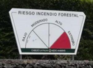 Waldbrand-Risiko