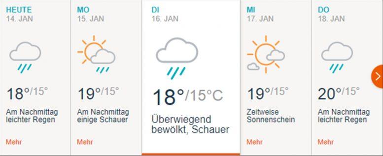Wetterwarnstufe