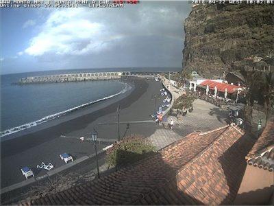 Webcam La Palma Puerto Tazacorte
