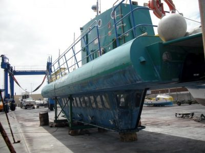 Touristen U-Boot