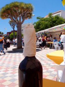 Wein und Dragos - Dia de CANARIAS