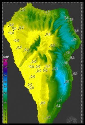 Regenkarte - Juni Regen