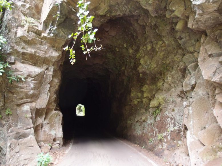 Altes Tunnel in Barlovento