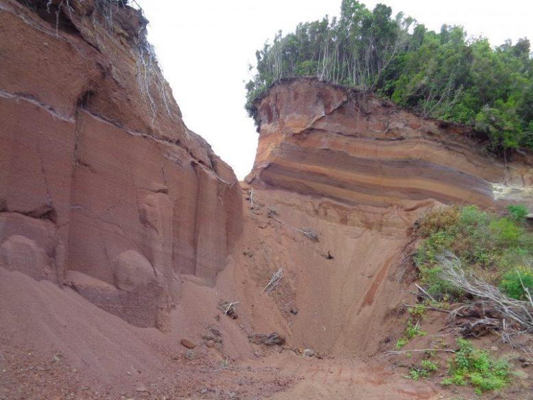 Lavaschicht - Vulkaninsel
