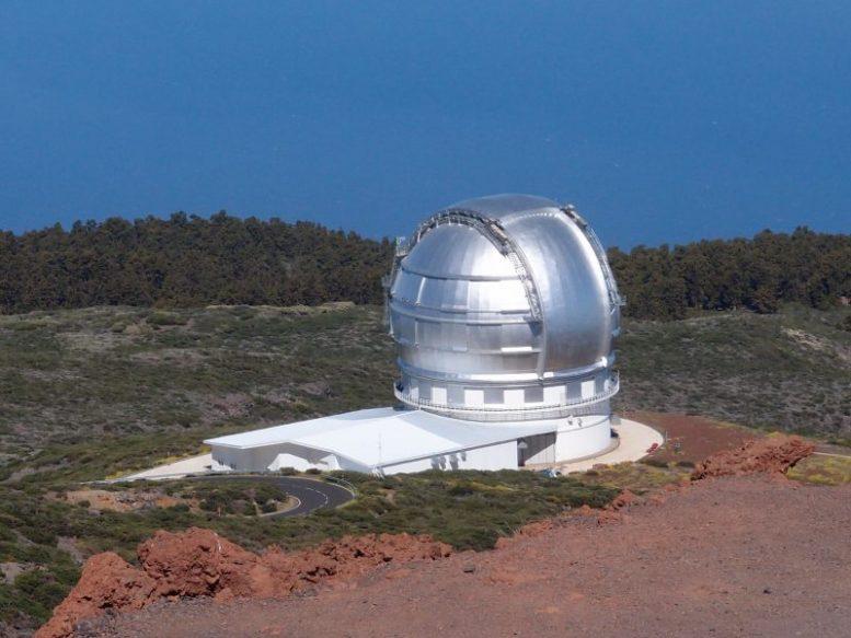 Grantecan Teleskop - TMT Riesenteleskop
