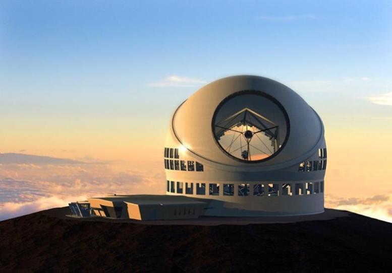 TMT Teleskop - Cheops
