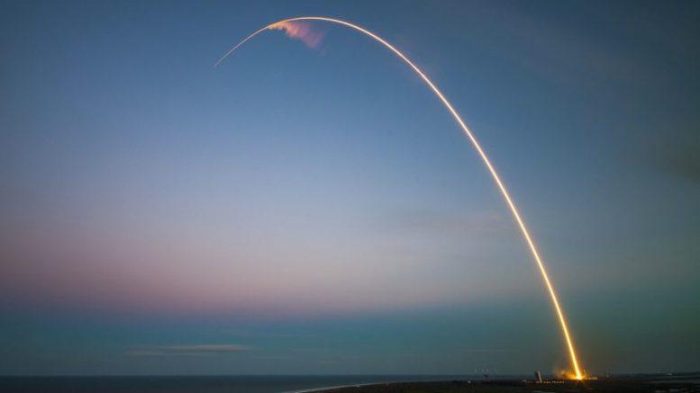 Raketenstart - Swiss Space Systems