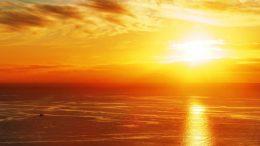 Sonnenaufgang - Stillstand