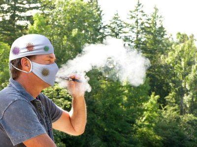Raucher - Mundschutz