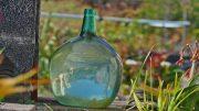 Glasflasche - Freiheit