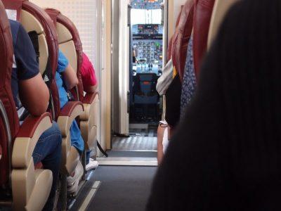 Flugzeug Kabine