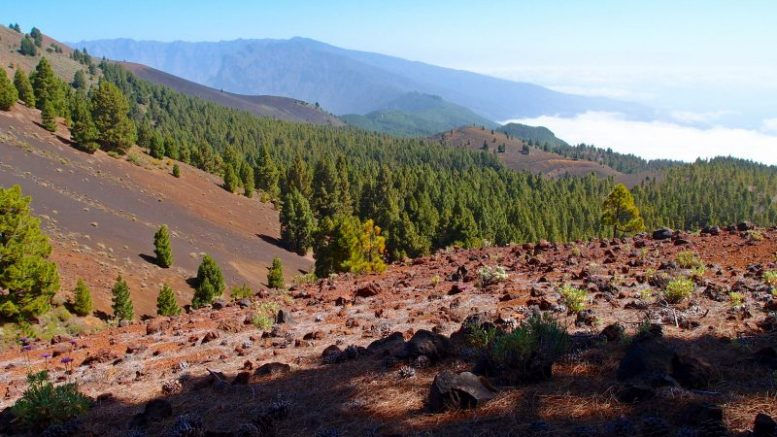 Vulkanlandschaft - Bebenschwarm