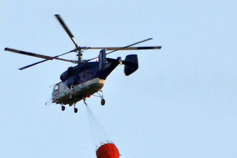 Kamov Hubschrauber - Feuernacht