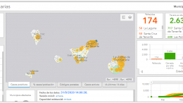 Landkarte - Coronafälle