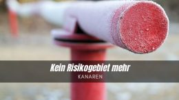 Schranke - Risikogebiet