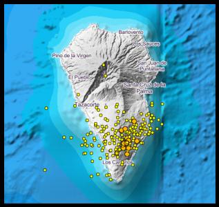 Erdbebengrafik - Seismographen
