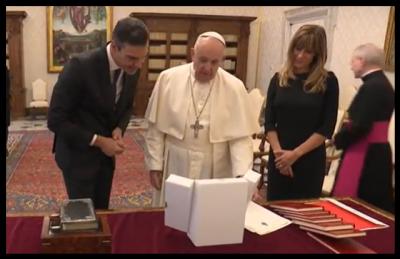 Papst Franciscus - Alarmzustand