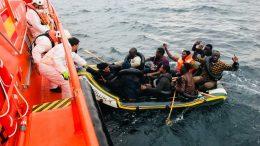 Seerettung - Afrikanische Migranten