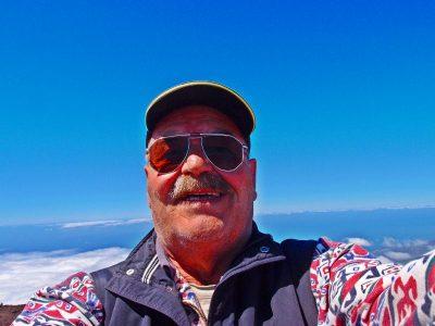Auf dem Gipfel des Birigoyo