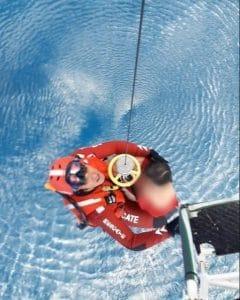 Rettung - Migrantenboot
