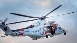 Hubschrauber - Migrantenboot