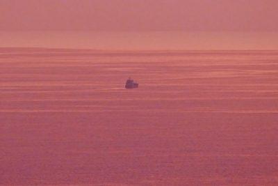 Frachtschiff - Glanzlichter