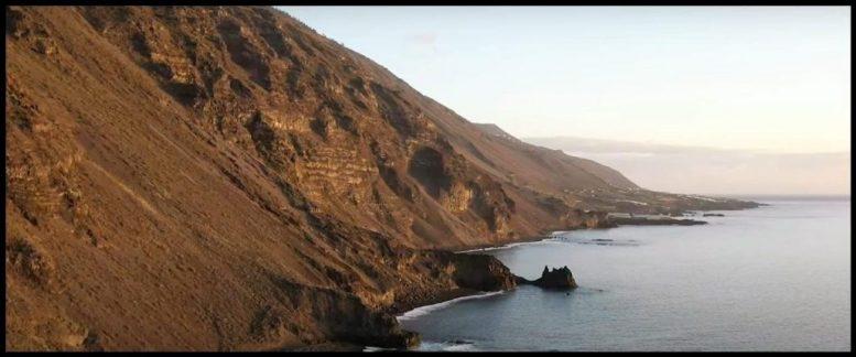 Norden von La Palma - Drohnenflug