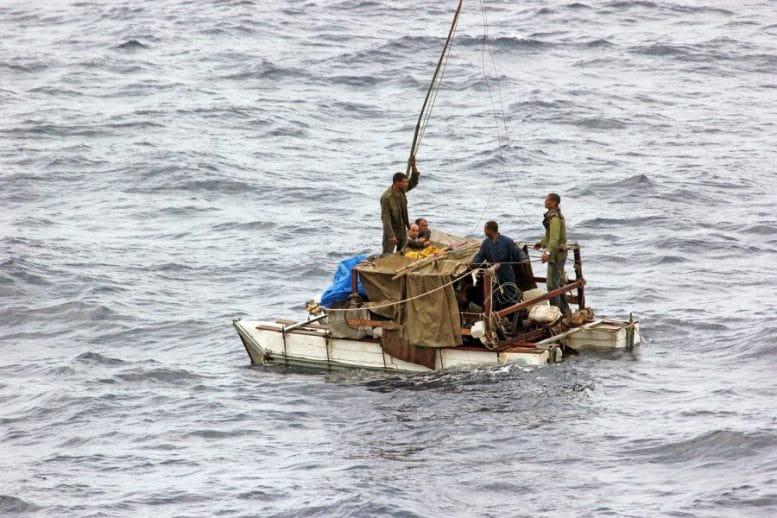 Flüchtlinge - Migrantenboot