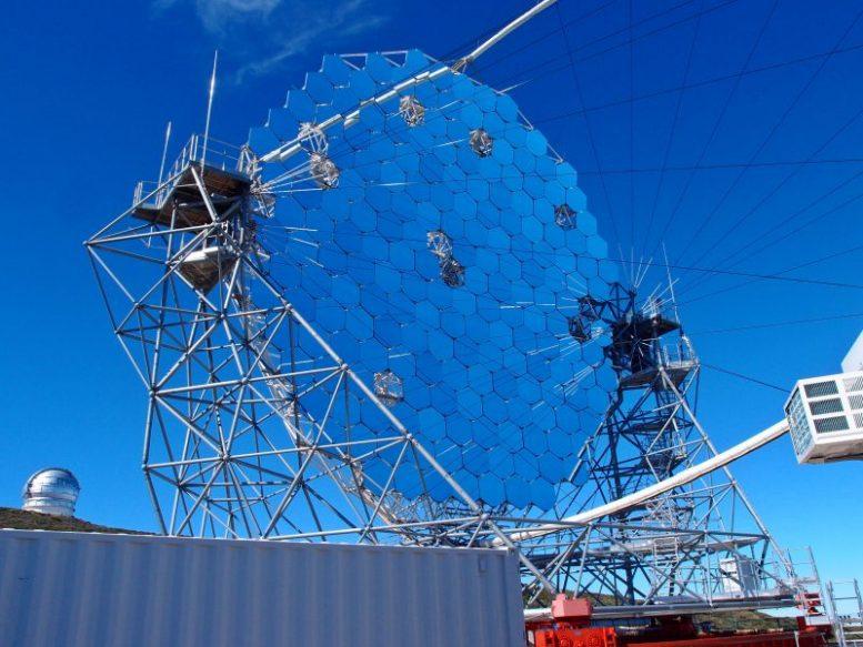 Gammastrahlenteleskop -Spitzentechnologie