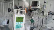 Krankenhaus - Covid Patient