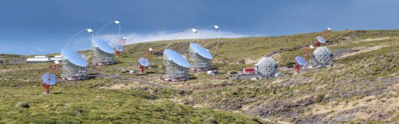 Teleskope - Gammastrahlen-Astronomie