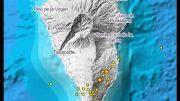La Palma - Erdbebenschwall