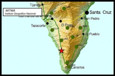Seismografen - Erdbebenschwall