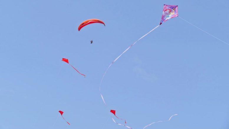 Flugdrachen - Kit und Drachen Festival