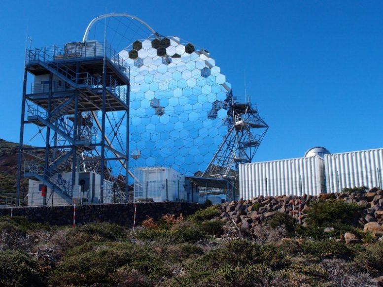 Japanisches Teleskop - Gammastrahlen-Astronomie