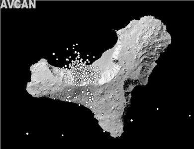 Grafik - Vulkanausbruch auf El Hierro
