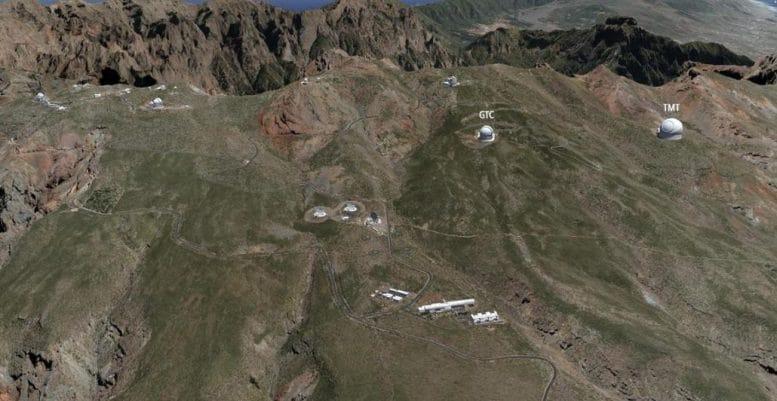 Roque de Los Muchachos - 30 Meter Teleskop