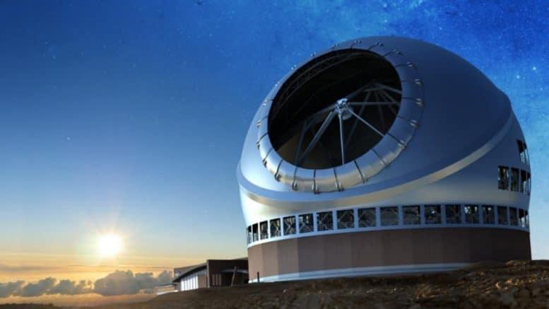 TMT - 30 Meter Teleskop