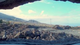 Altes Lavagebiet - eruptiver Prozess
