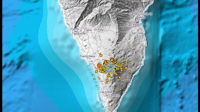 La Palma - seismischer Erdbebenschwall