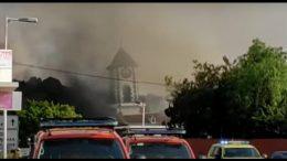 Einsturz - Kirche von Todoque