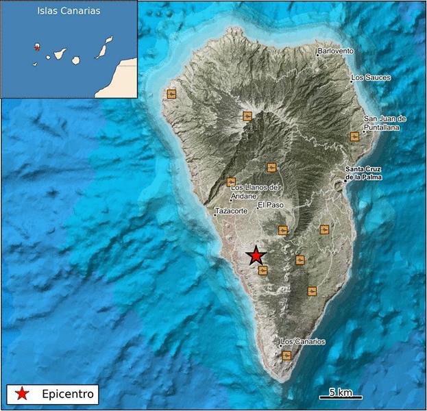 Lagekarte - 200 Erdbeben