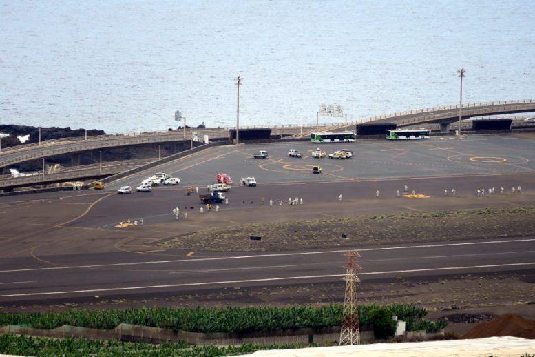 Reinigung des Flughafen Mazo