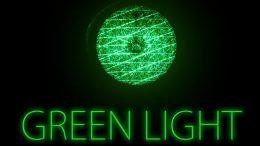 Grünes Licht - Warnampel