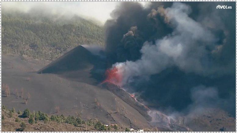 Vulkan - tobt der Vulkan