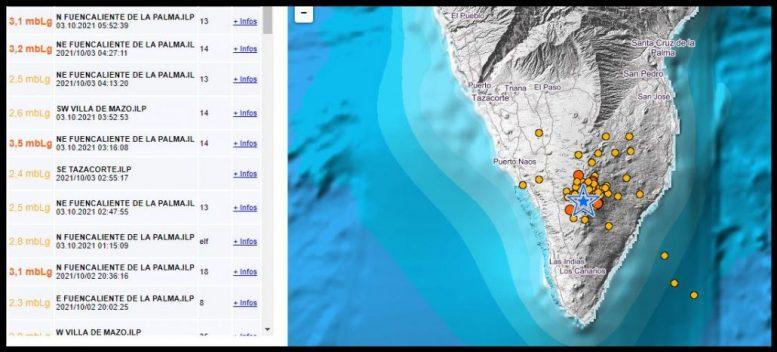 Erdbeben - tobt der Vulkan
