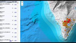 Grafik - Starkes Erdbeben