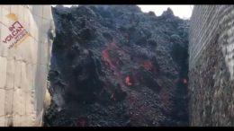 Lavastrom - Eruptionsmündung