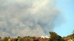 Rauchwolke - Vulkan Cabeza